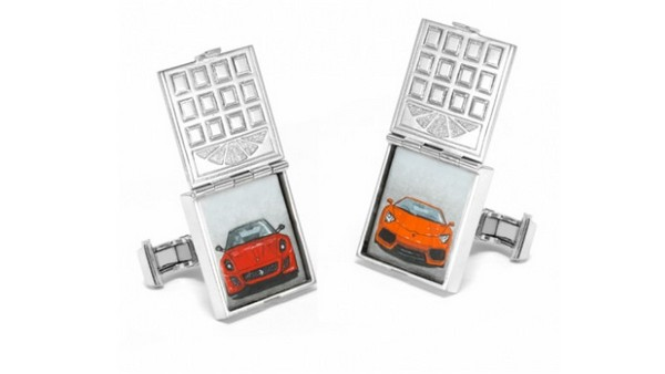 Garage Door Cufflinks