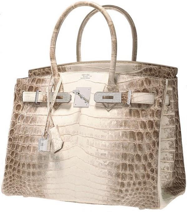 2663c687aefd На аукцион выставлена самая эксклюзивная сумка серии Birkin, из кожи ...