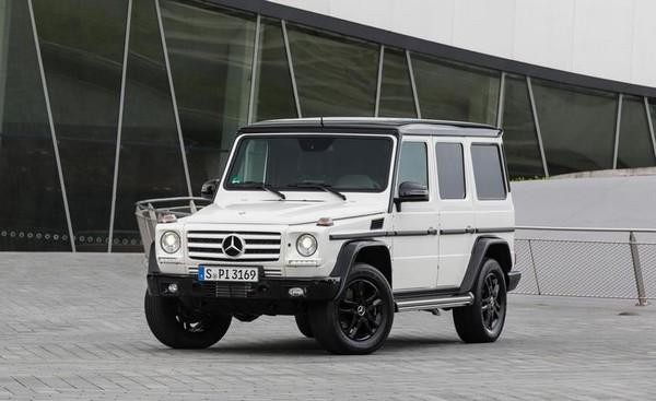 Mercedes Gelandewagen g550