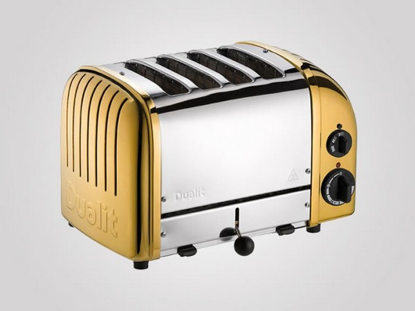 Dualit 24 Carat Gold Plated Classic Toaster