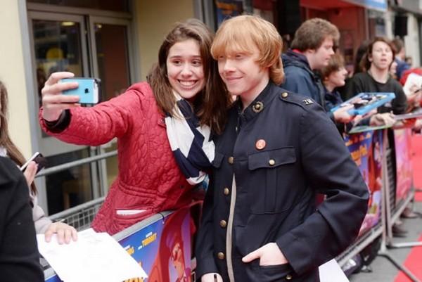 Rupert Grint selfie