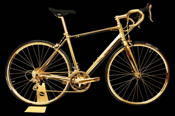 Goldgenie gold bike