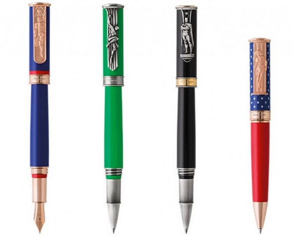 Montegrappa DC Comics Heroes and Villains_1