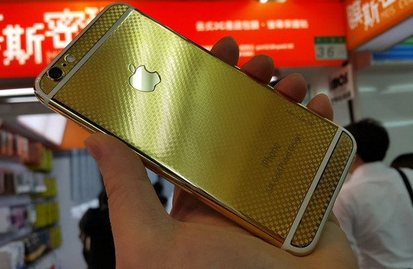 iPhone 6 gold  NavJack