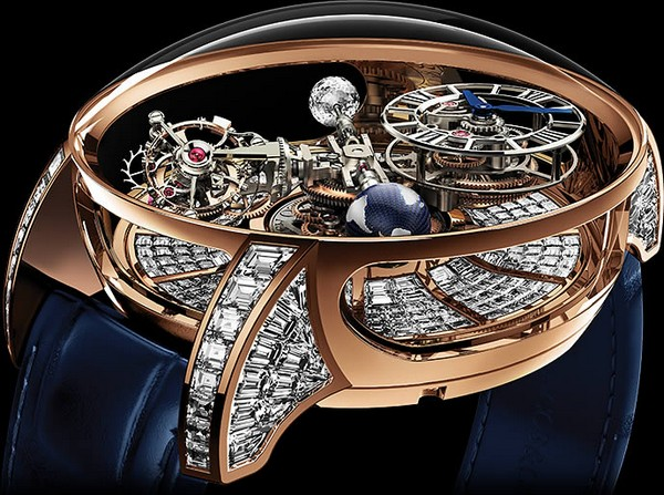 Jacob Co Astronomia Tourbillon Baguette