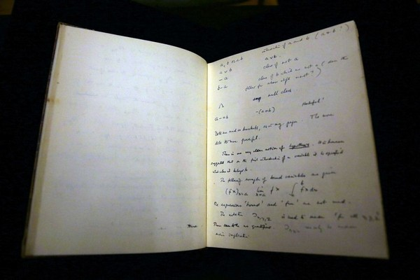 Alan Turing notebook