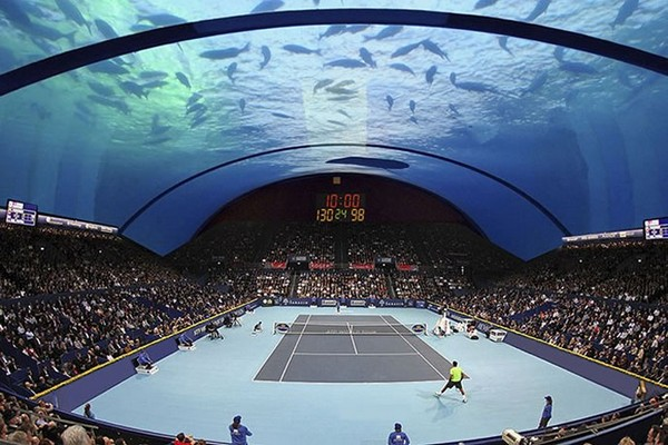 Dubai Underwater Tennis Court_1