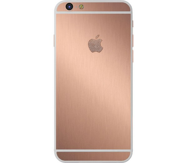 Brushed Rose Gold iPhone Parco Mura