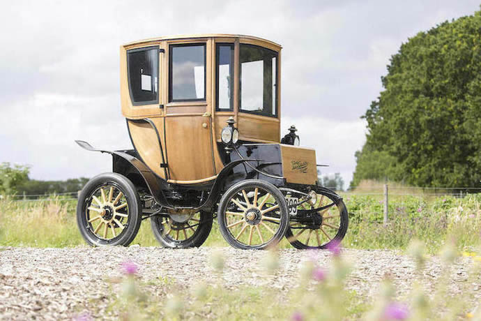 Model S the 1905 Woods Electric Style 214A Queen Victoria Brougham