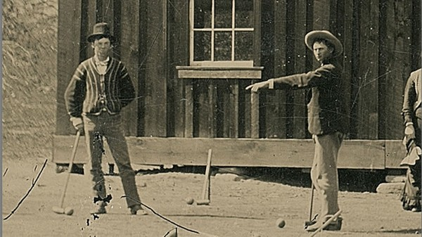 rare photo of Billy the Kid