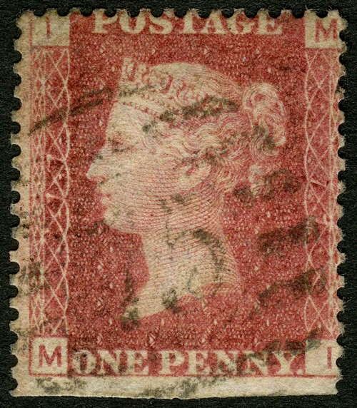 Plate 77 Penny Red