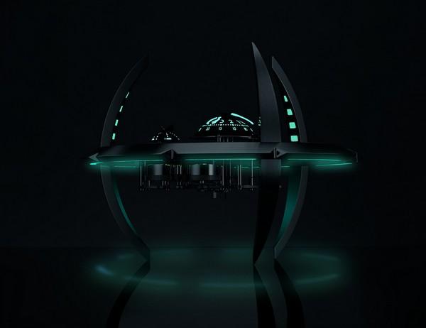 Starfleet Machine Black Badger