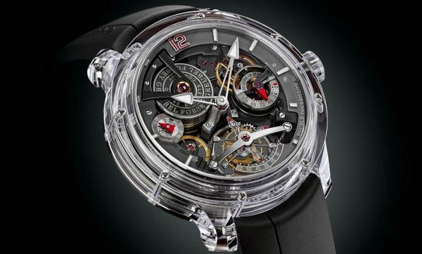 Double Tourbillon 30 Technique