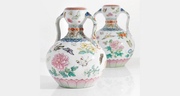 Китайские вазы были проданы в Лондоне с аукциона за 16.800.000$