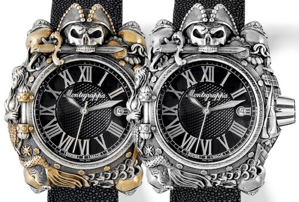 Montegrappa выпустили наручные часы  Джека Воробья