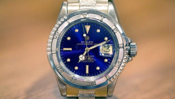Прототип часов Rolex Submariner проданный с аукциона за 628.572$
