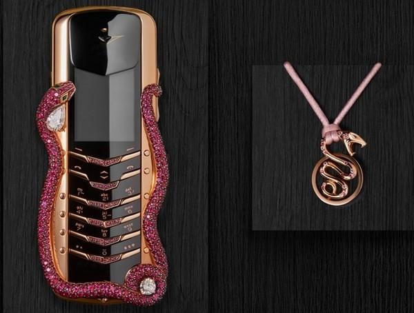 Vertu выпустили рубиновый мобильный телефон Vertu SIGNATURE Cobra за 360.000$