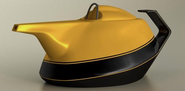 Renault выпустили чайник в честь 40-летия начала выступления в Формуле-1