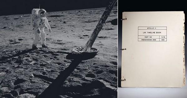 Инструкция к лунному модулю «Аполлон 11» может быть продана с аукциона 9.000.000$
