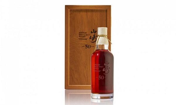 Бутылка виски Yamazaki 50-летней выдержки была продана за 430.000$